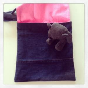 jean bleu rose fluo 2