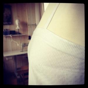 robe coton blanc 2