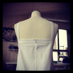 robe coton blanc 3